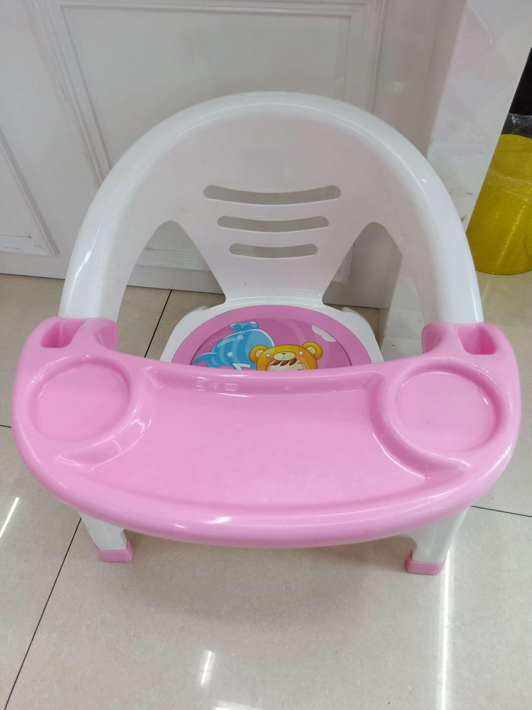 儿童用餐凳,带声控