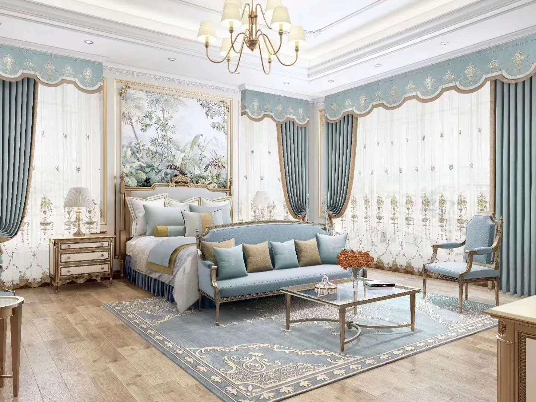 艺绣软装现代轻奢风系列窗帘 价格面议