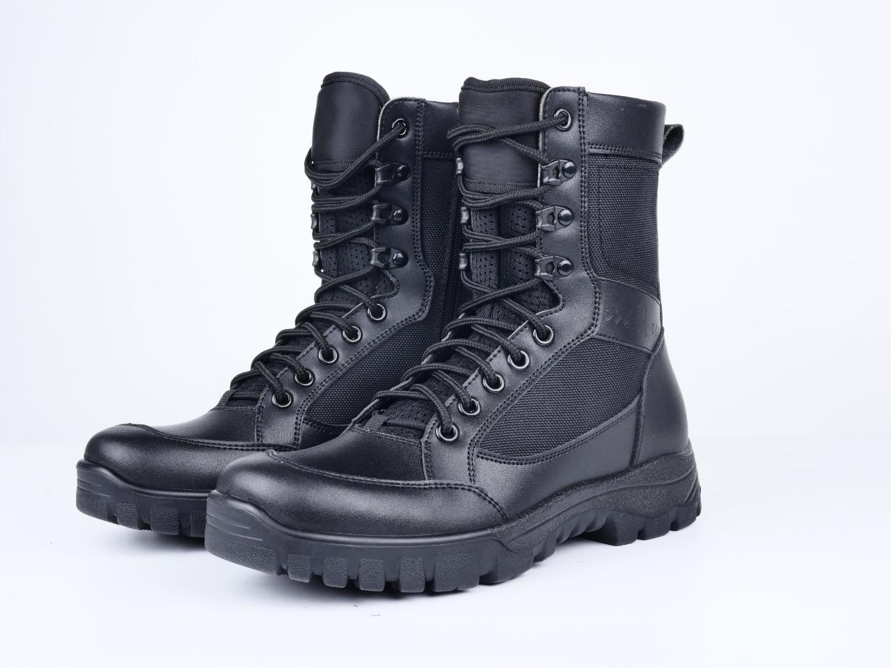 112防爆靴户外轻量军迷作战靴战术靴男高帮防水防滑透气靴沙漠靴 38—46码