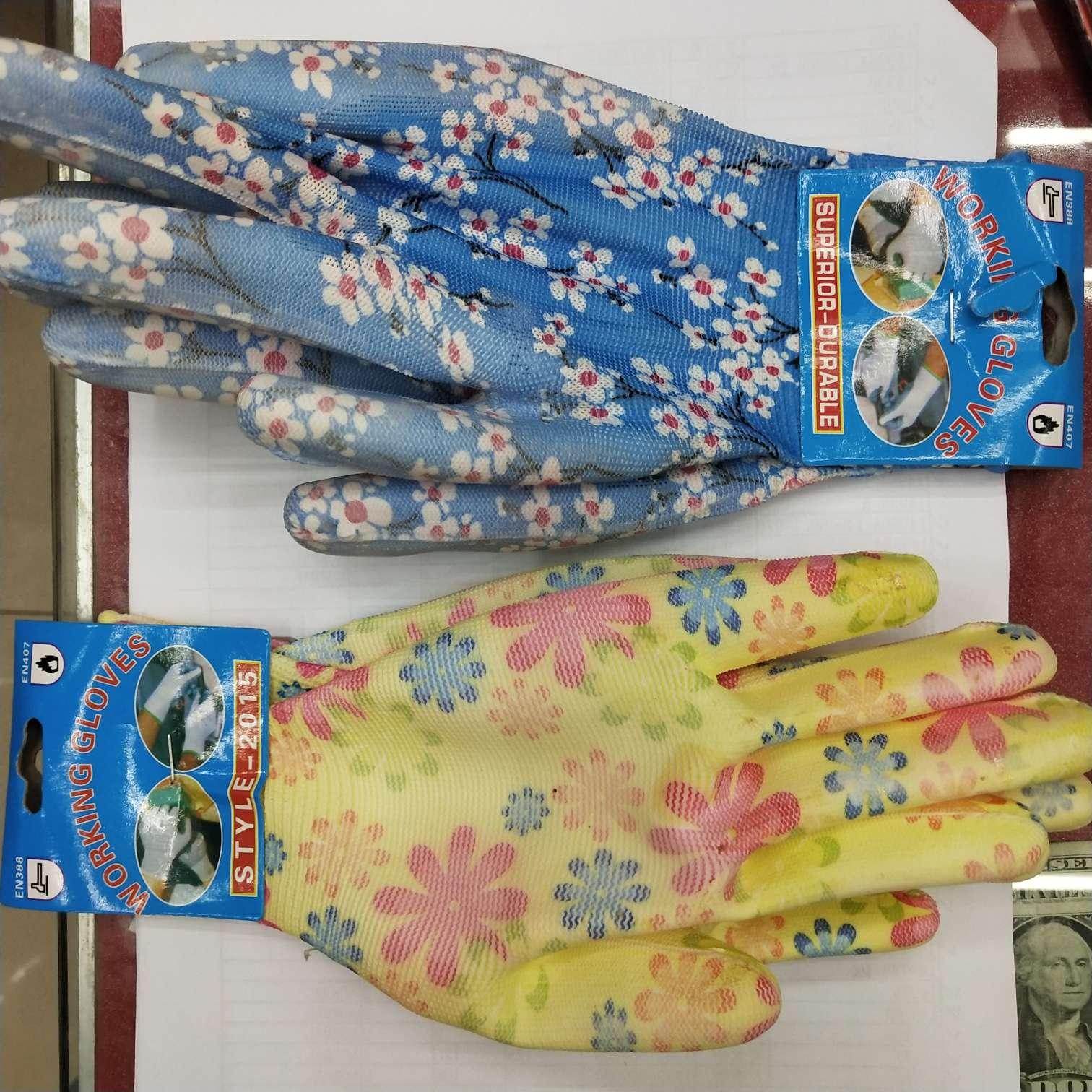 pu手套花色可清装可混装