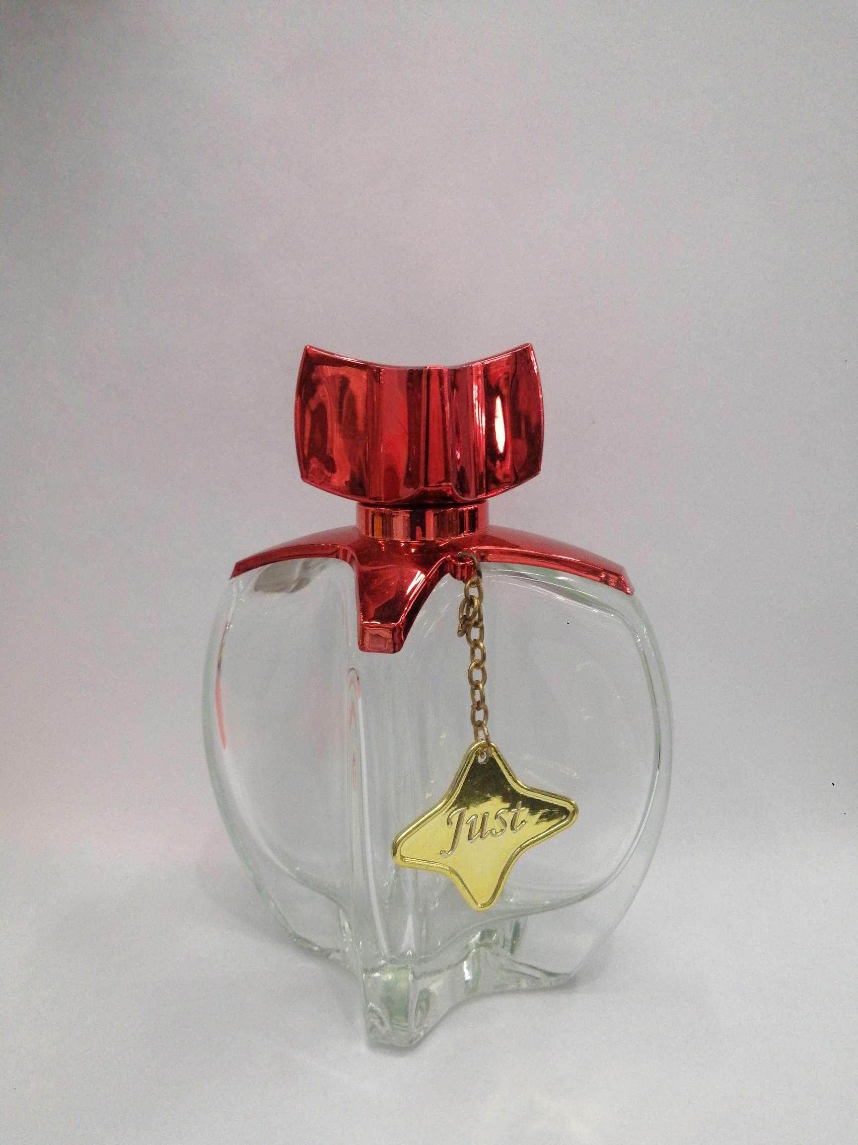 香水瓶 透明 挂件星星 透明