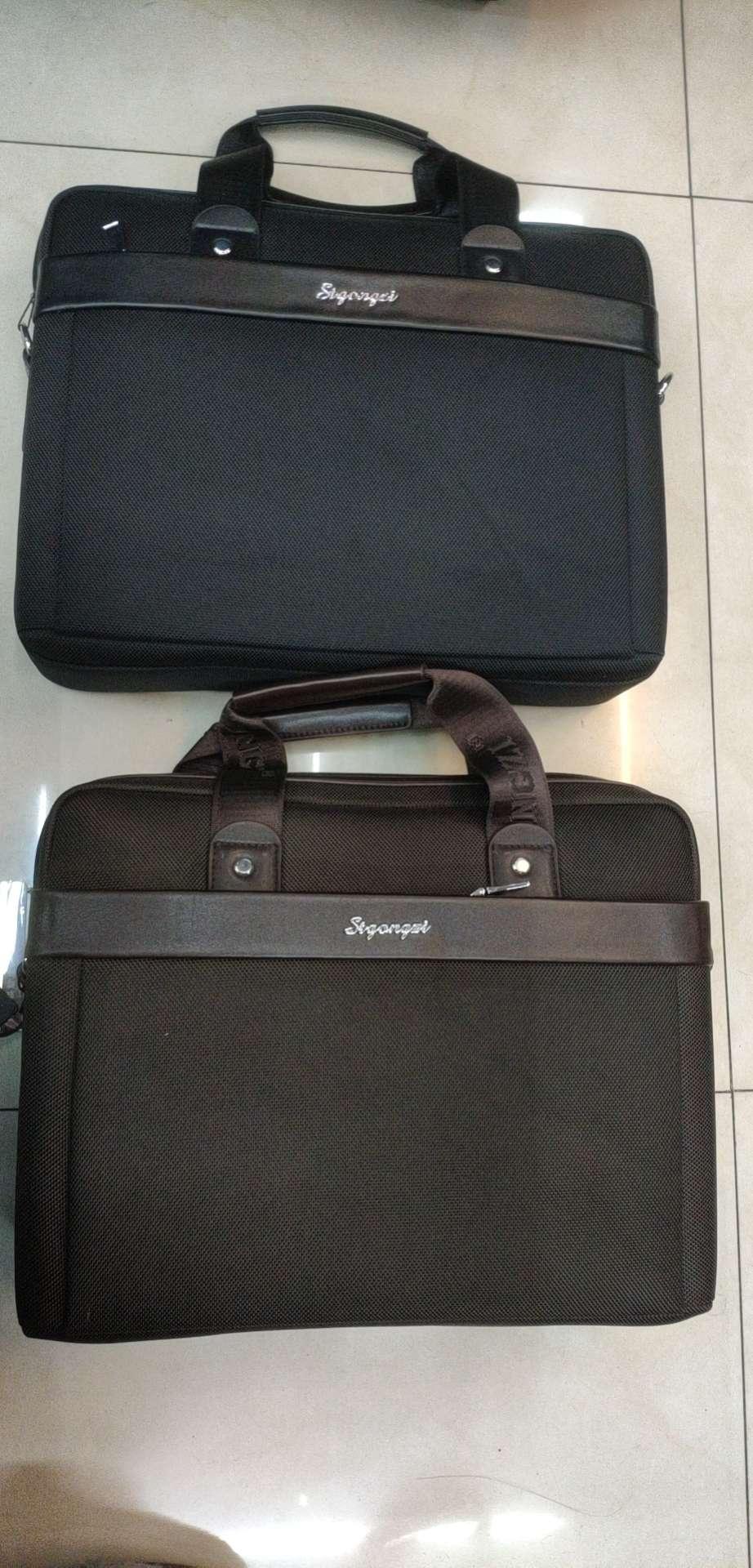 牛津布公文包电脑包大容量商务包