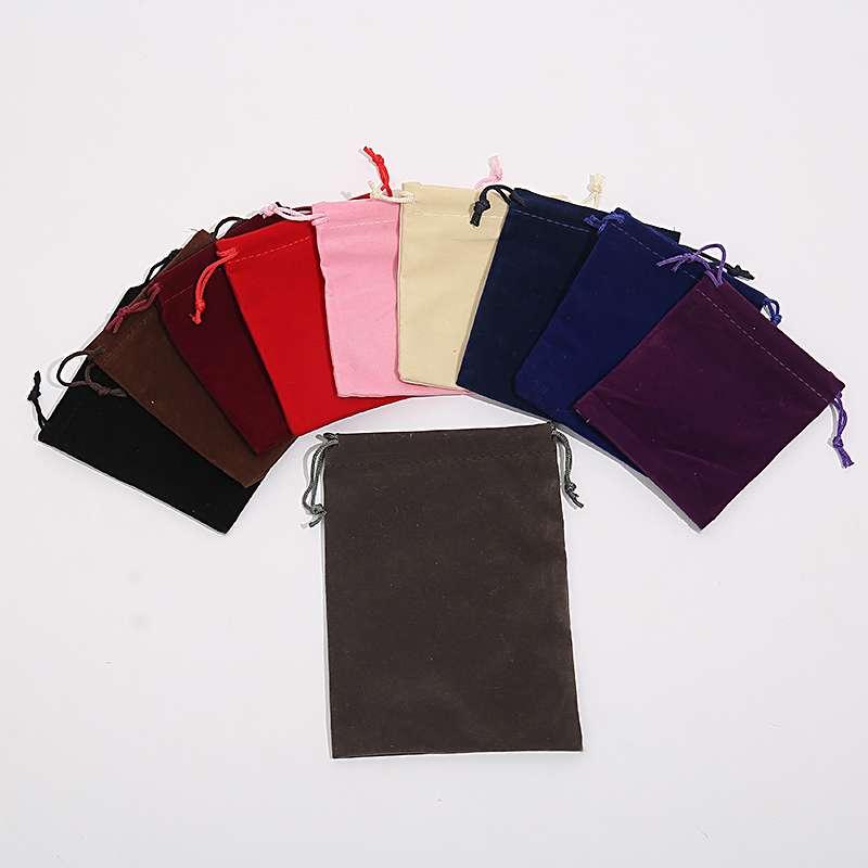 13*18绒布袋现货