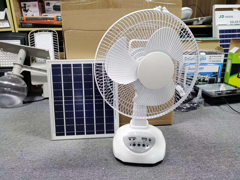 太阳能风扇灯,12寸和20寸,一次太阳能充电可以风扇4-8个小时,还不需要一度电费和电线