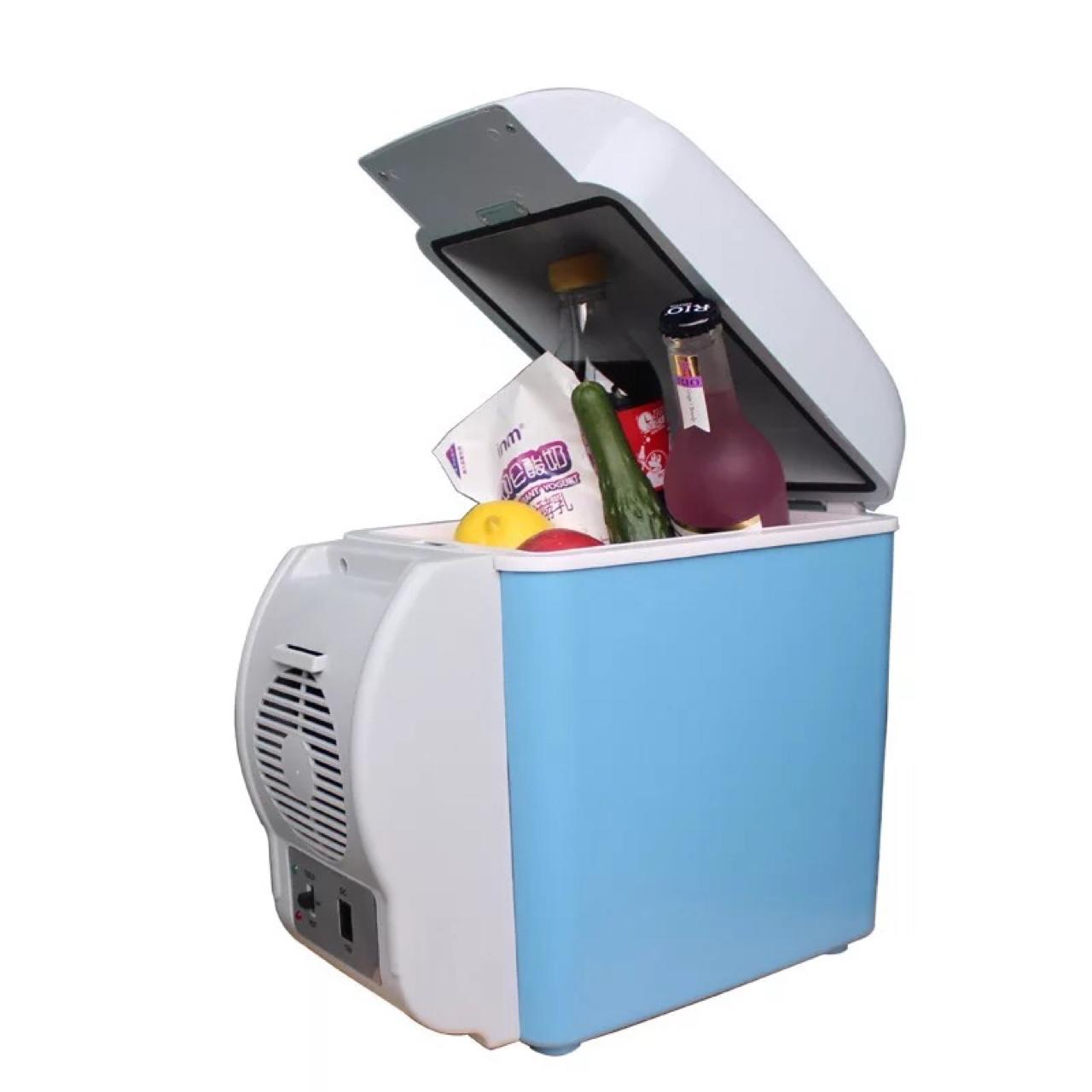 车载冰箱7.5升家用冷热箱汽车冰箱迷你小冰箱冷藏箱厂家直销