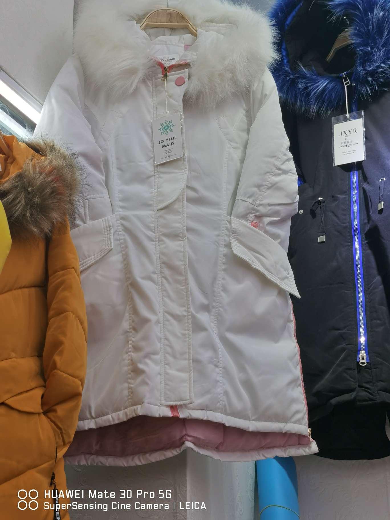 派克棉服女中长款2020新款韩版时尚加厚大毛领外套