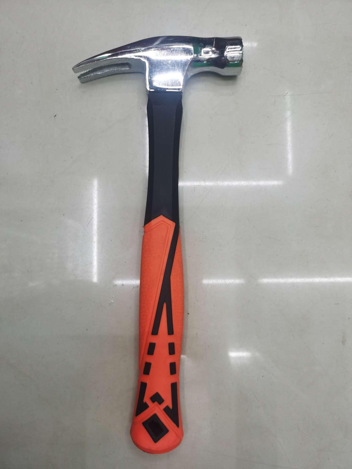 新款塑胶柄羊角锤