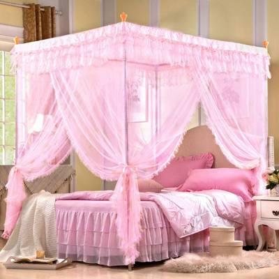 夏季粉红防蚊蚊帐
