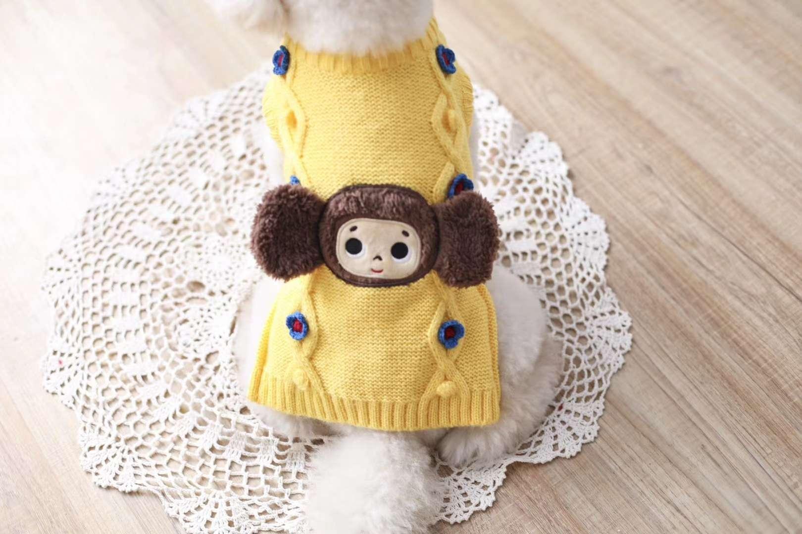 新款,卡通大耳猴毛衣 上新至今,库存已销售过半,非常受欢迎的一款服饰 代理们,让我们争取今年把它全部清空[憨笑][憨笑]