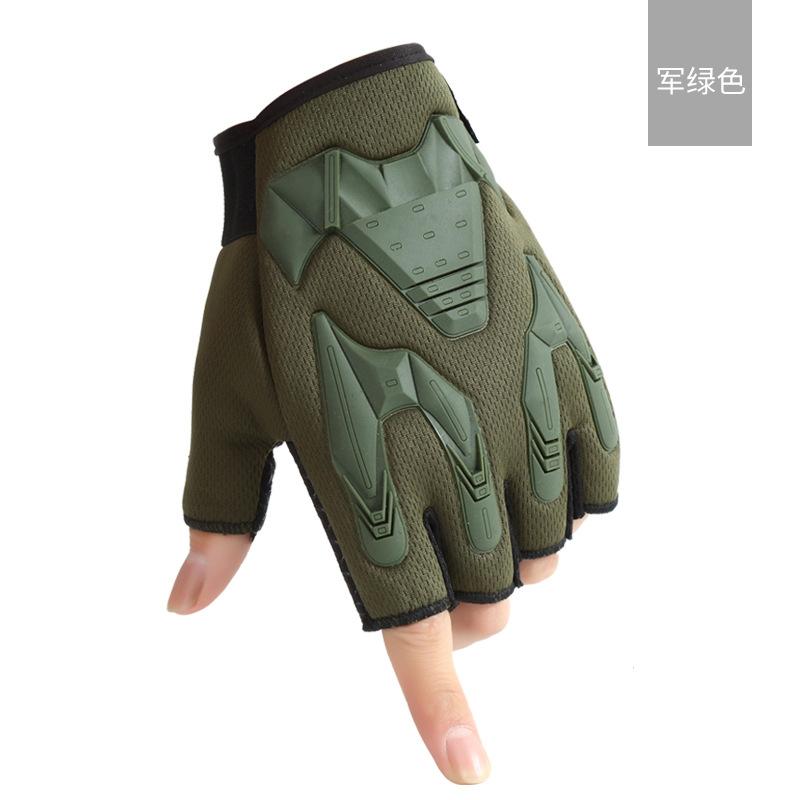 军迷战术半指手套户外运动男户外登山战术防滑健身骑行手套批发