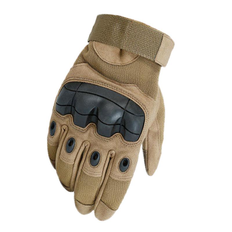 战术长指手套户外运动男户外登山战术防滑健身骑行手套