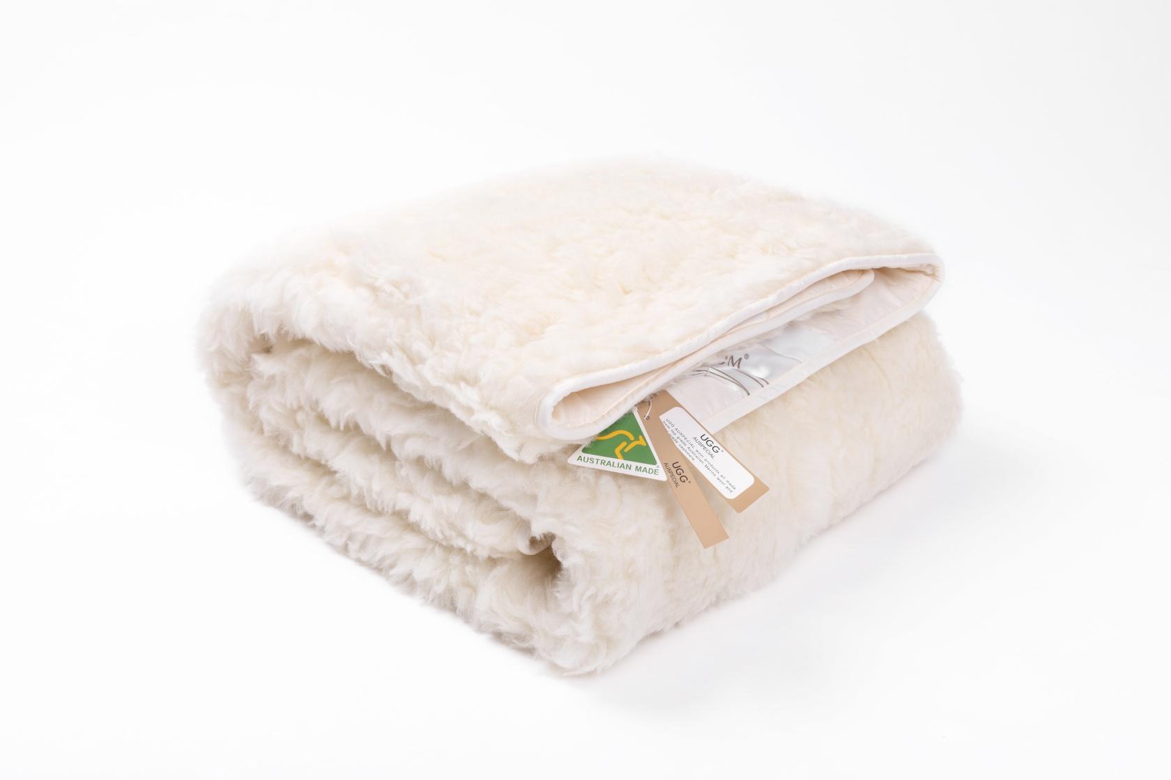 N43047羊毛褥子 180*200 100%澳产羊毛褥子