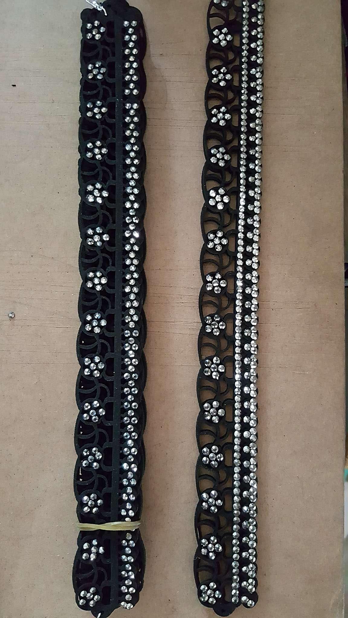 韩国绒手链烫钻烫片烫图服装辅料饰品配件古银十字架项链吊坠挂件