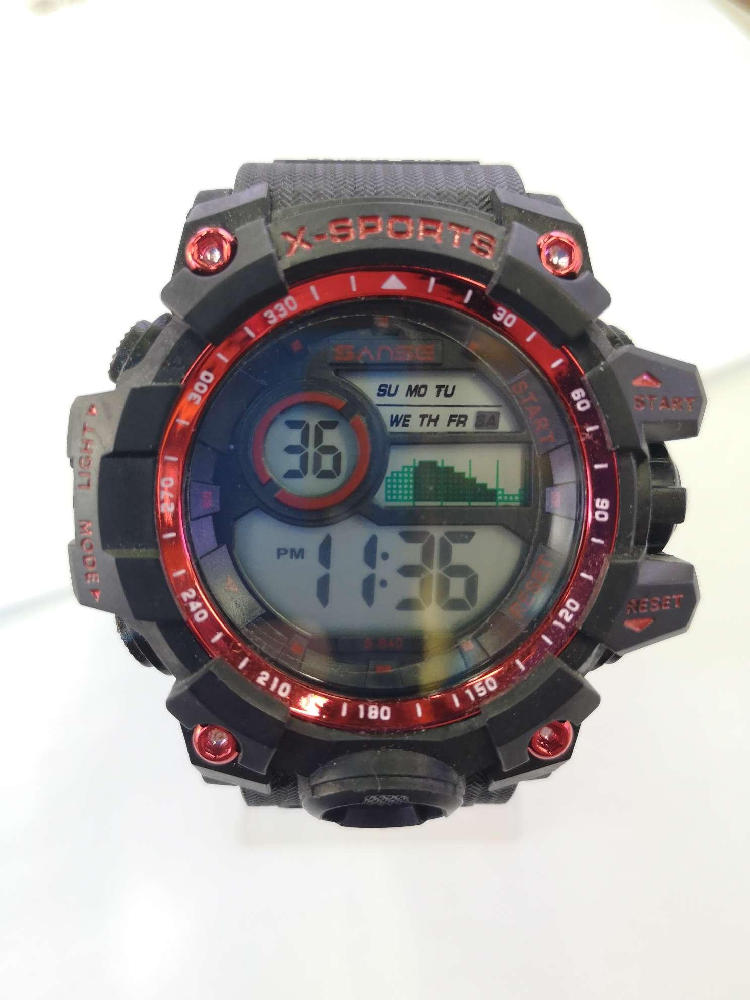 SANSE运动潜水系列电子表640型号