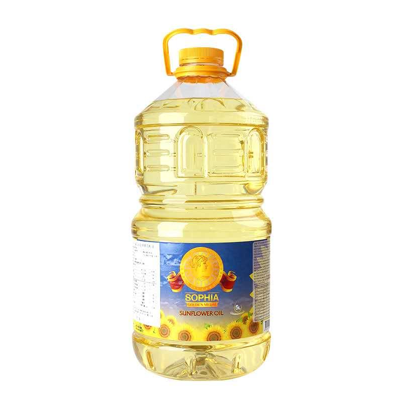 名仕索菲亚葵花籽油5L*3桶