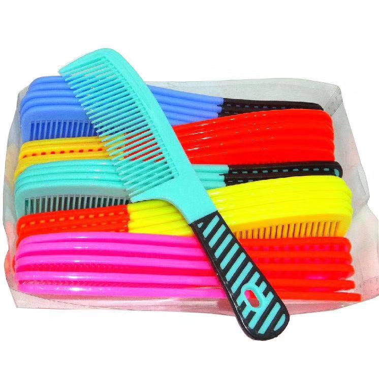 厂家直销家居日用美发梳 印花彩色梳子 美发