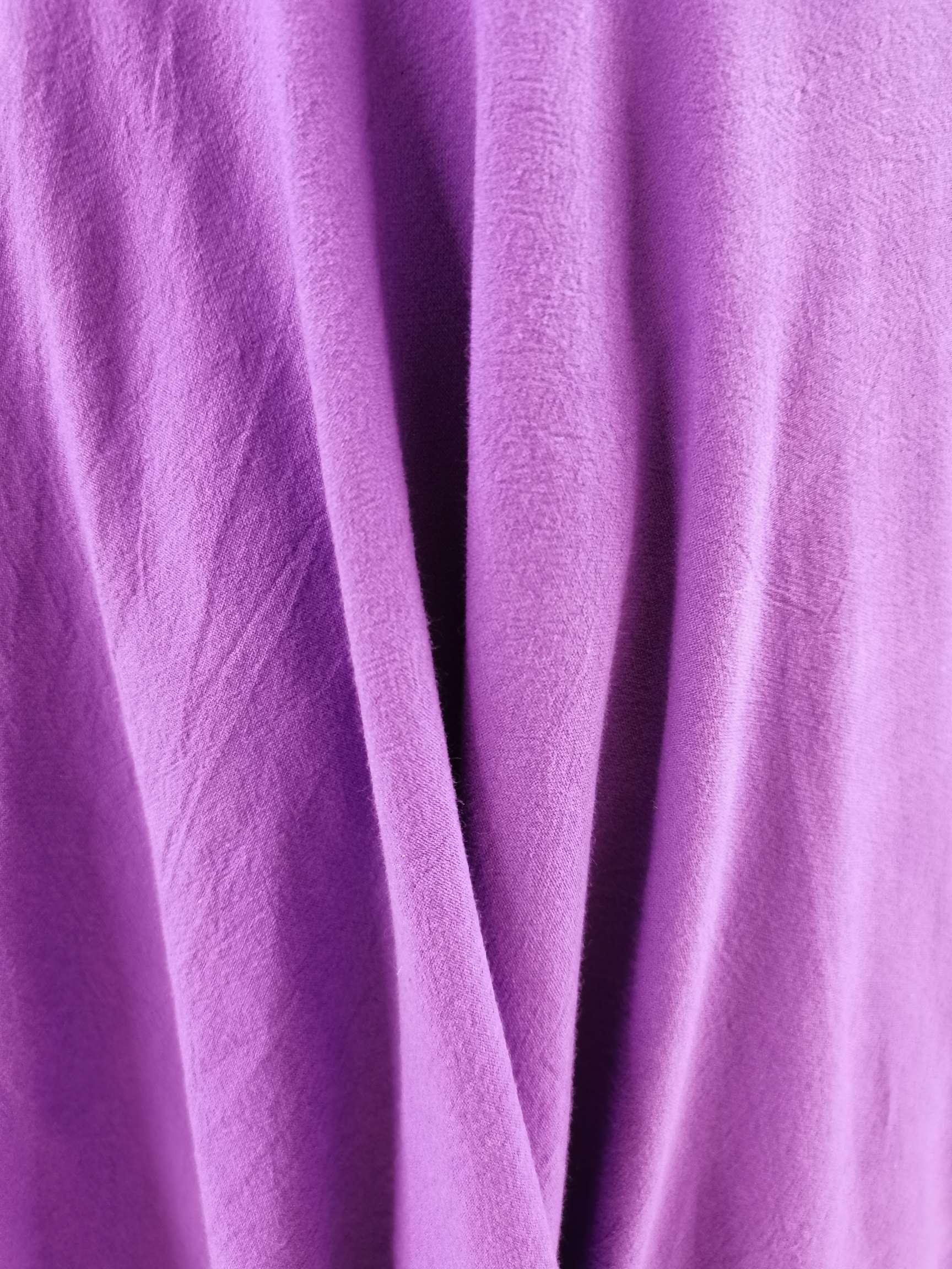 水洗棉紫罗兰色