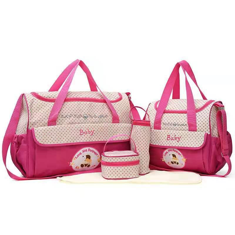 卡通五件套妈咪包时尚多功能大容量妈咪包妈妈包
