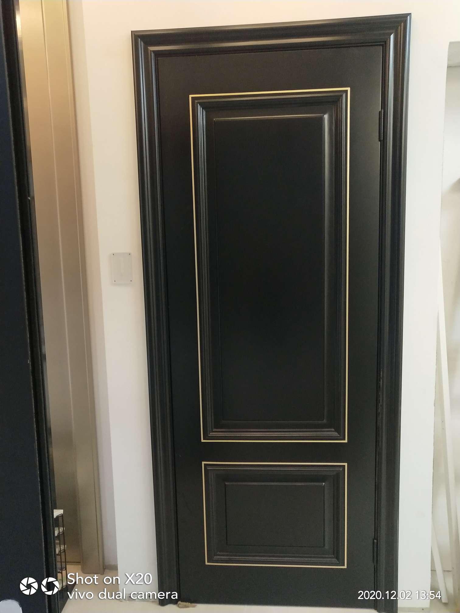 全屋定制 多层实木门 定制房间门 卫生间门