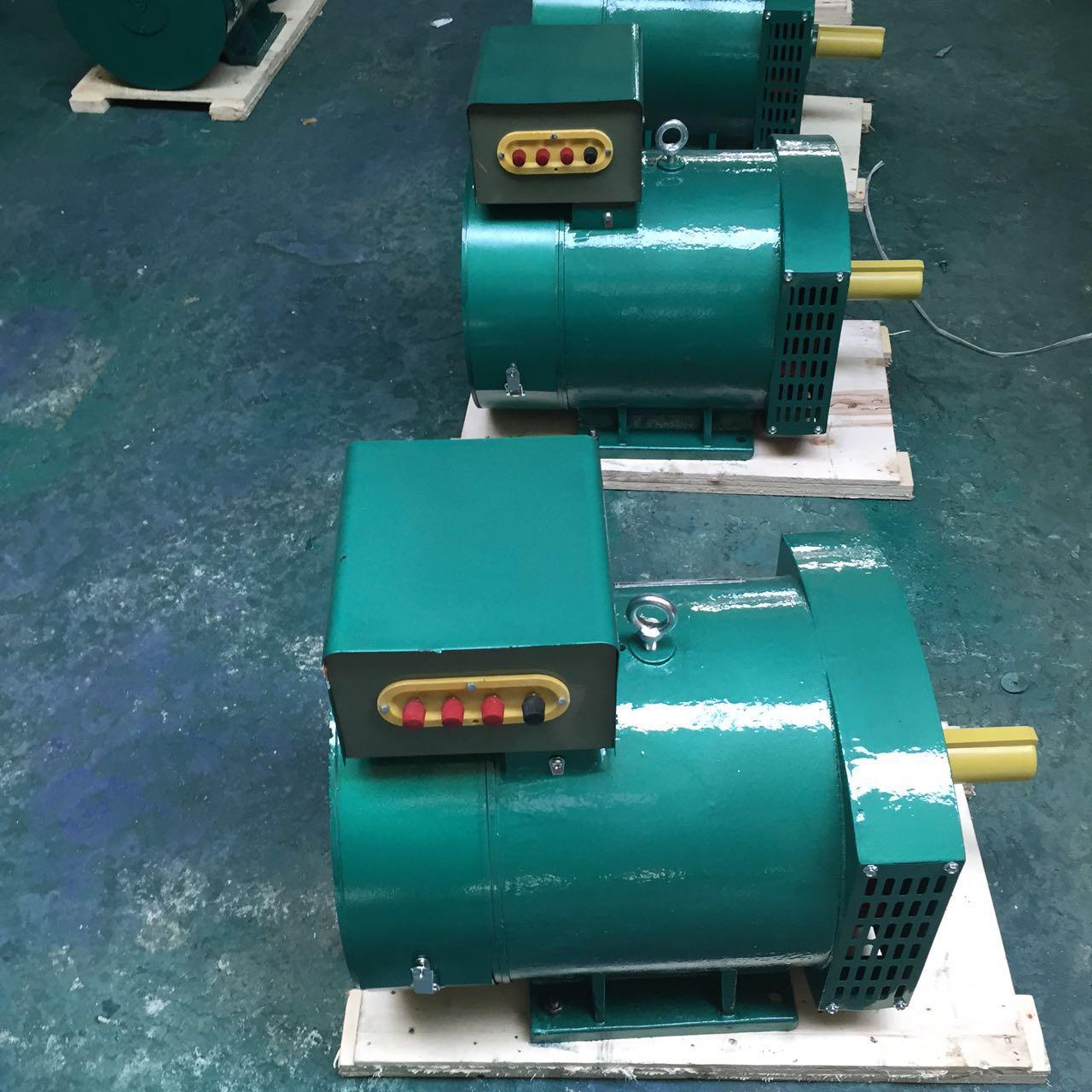 15KVA 12KW同步交流发电机,皮带轮柴油发电机