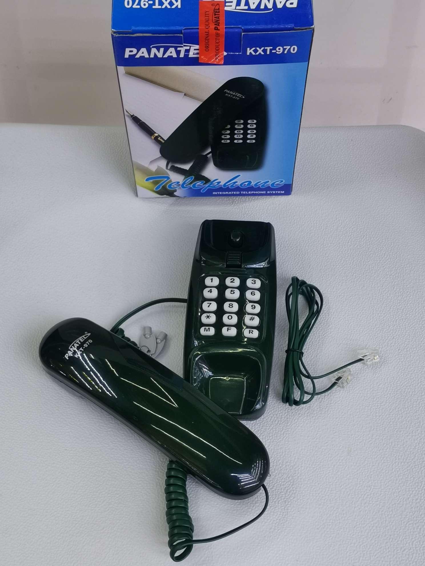 工厂直销PANATELKXT-970英文商务办公酒店客房办公室全英文外贸电话机
