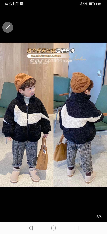 2020冬款韩版加棉毛毛外套