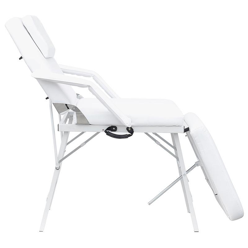 纹绣床按摩床折叠午休午睡椅 休闲折叠躺椅加固 办公室两用