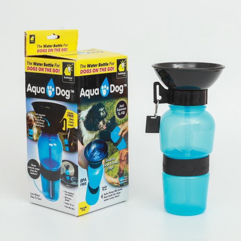 狗狗外出旅行水瓶饮水器便携式水壶宠物户外喝水随行杯喂水器