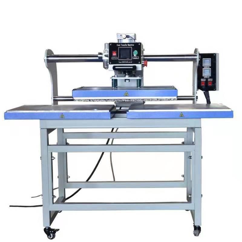 热转印机烫画机上滑式双工位上下加热平板压烫机40*60