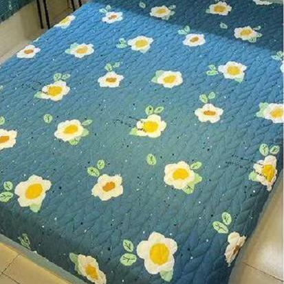 新款印花绗缝空调被