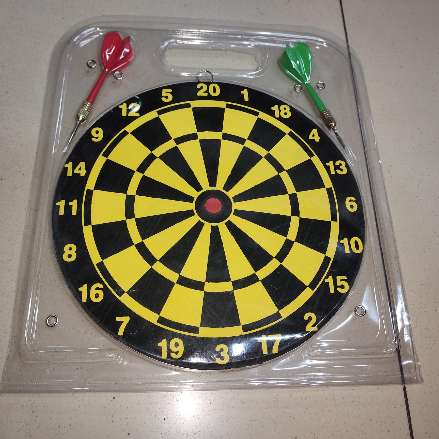 10寸飞镖盘带两个标针儿童成人室内玩具运动器材