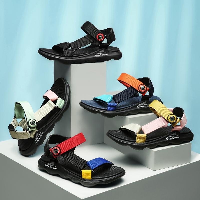 外贸出口童鞋夏季男女童休闲凉鞋防臭露趾透气鞋学生户外沙滩鞋潮