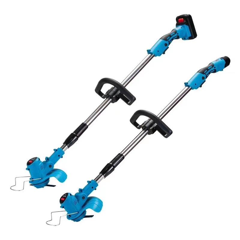 电动割草机小型家用除草机充电式草坪机农用锂电多功能打草机神器