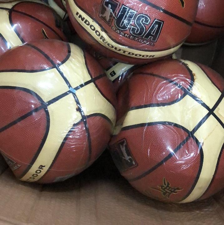 库存贴皮篮球低价处理