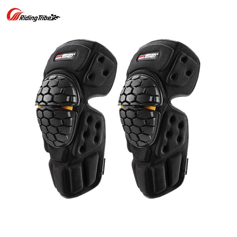 HX-P23PROBIKER工厂新款越野骑行舒适柔软防摔耐磨护膝两件套