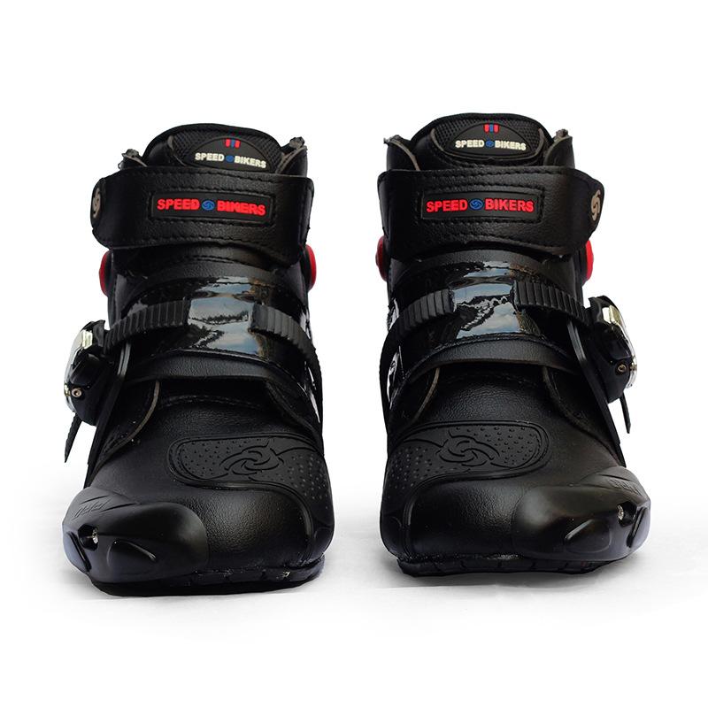 越野摩托车骑行鞋子短靴防摔耐磨赛车鞋公路男女款骑士鞋工厂销售