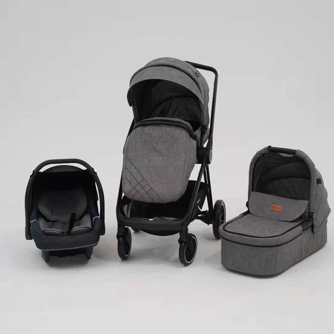6800灰色婴儿推车