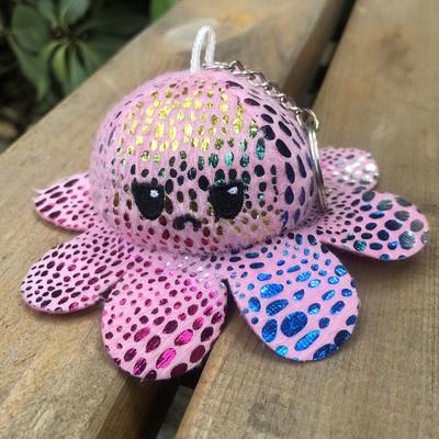 毛绒玩具公仔玩偶翻转玩具创意章鱼挂件钥匙扣章鱼公仔玩偶八爪鱼翻转玩具创意钥匙扣章鱼翻转