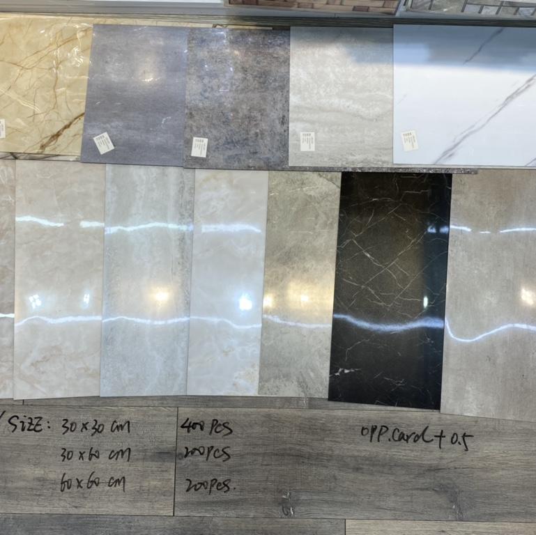 自粘地板 大理石瓷砖贴PVC防水墙纸光面墙贴