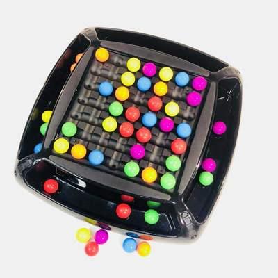 彩虹球消消乐新款缤纷 开心爱消除桌面游戏 亲子互动儿童益智玩具