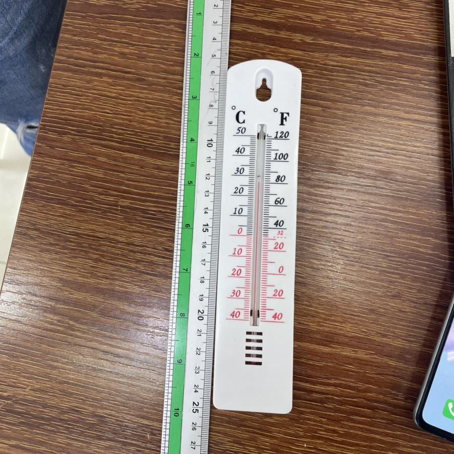 塑料单片温度计