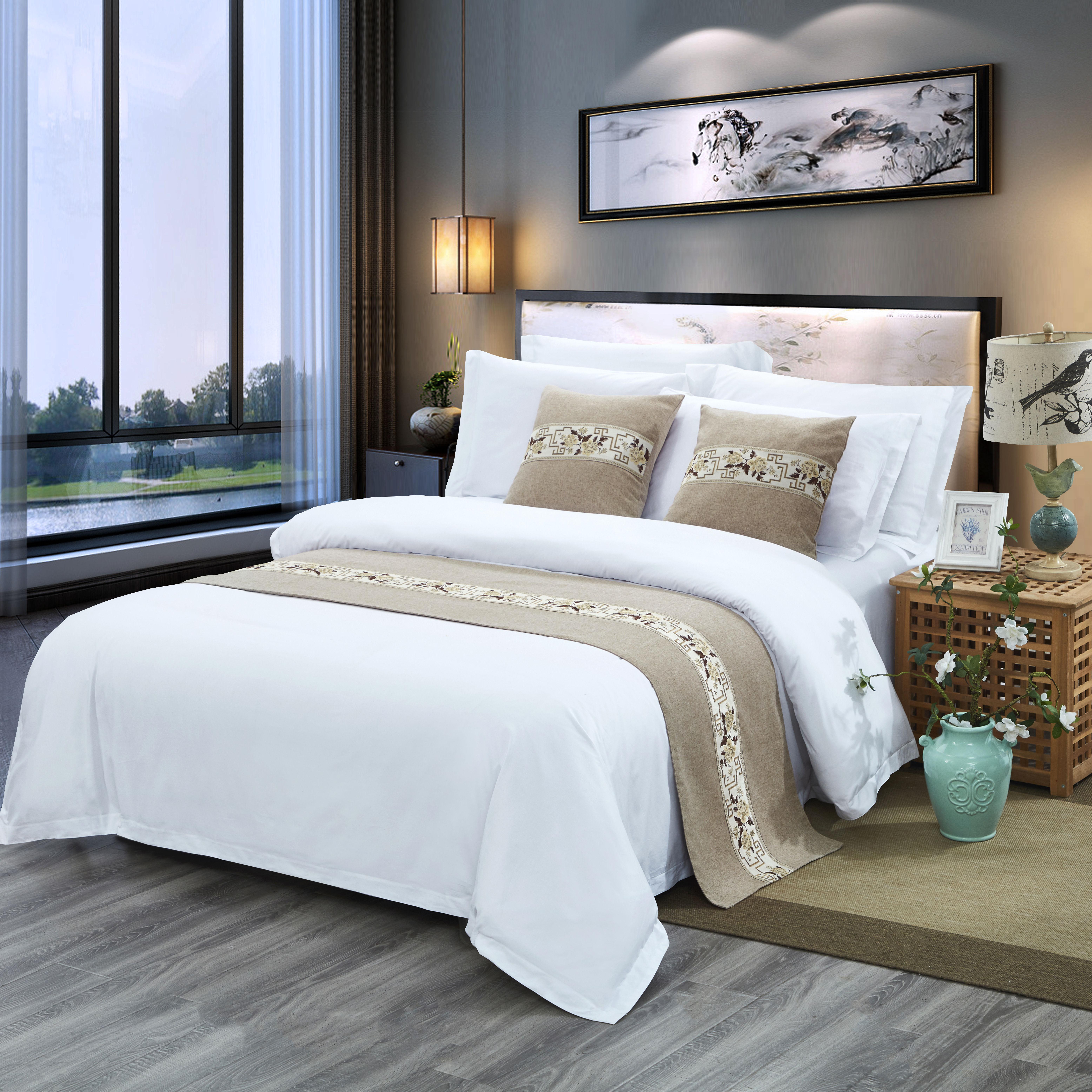大床房全套床品