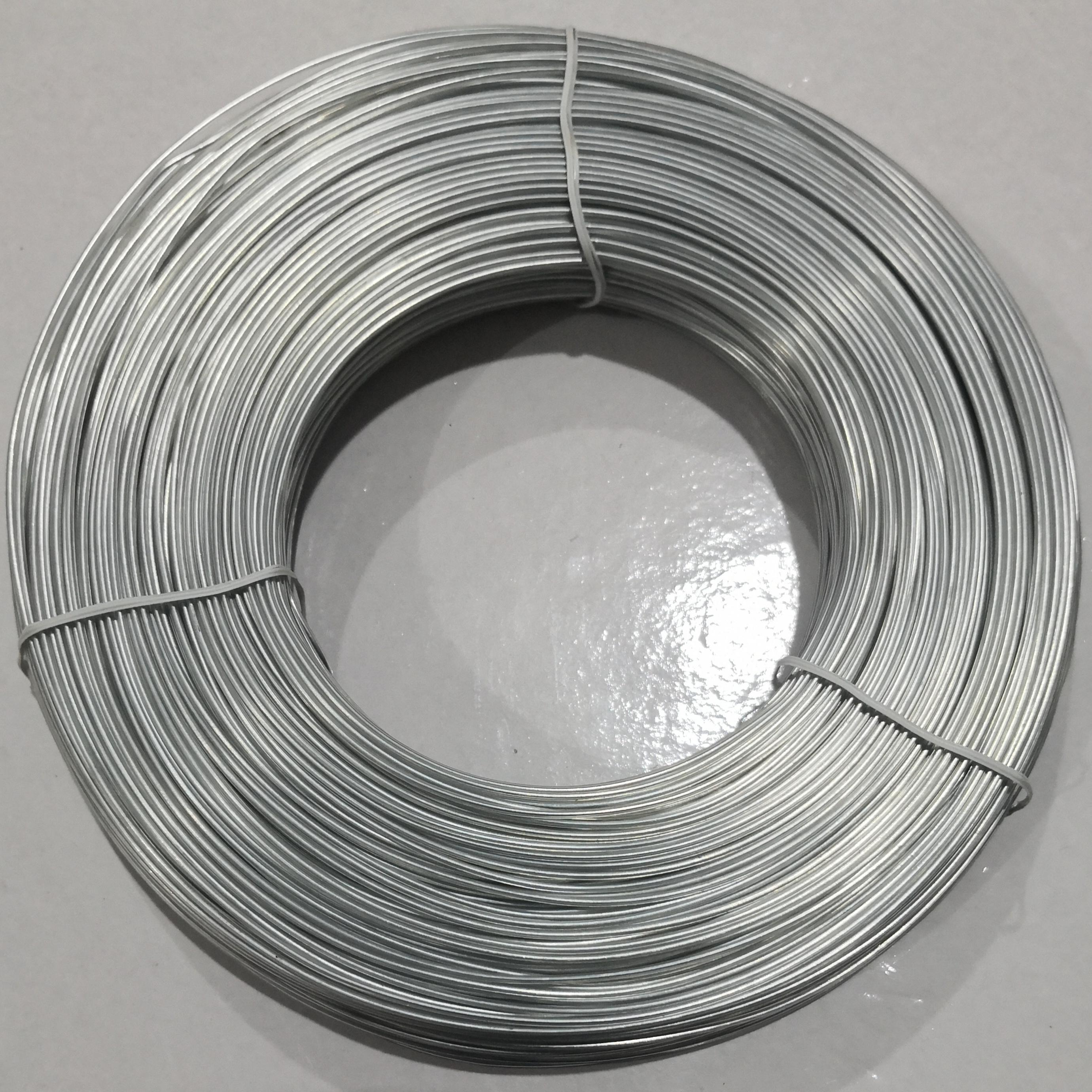 电镀锌铁丝扎线铁丝0.7PVC包胶1.4铁扎带包胶扎丝过胶铁丝一卷200米手工DIY可裁剪颜色可定制