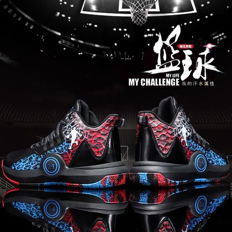 2021年新款科比球鞋男篮球透气大童运动鞋潮夏季网面青年