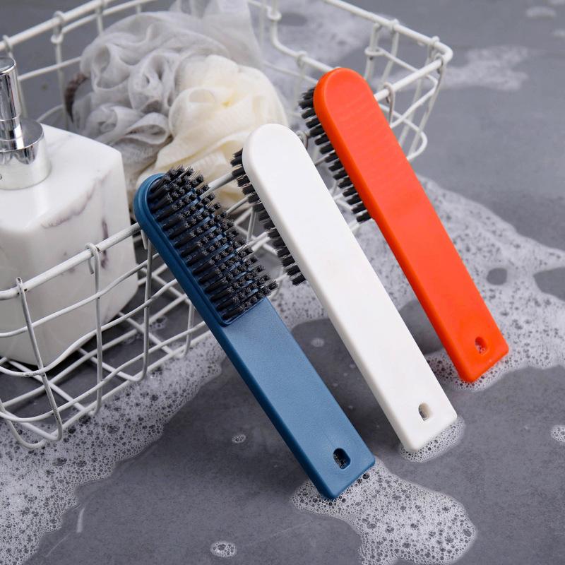 K06-1001可挂式长柄鞋刷家用旅行刷洗衣软毛刷多功能板刷清洁刷子