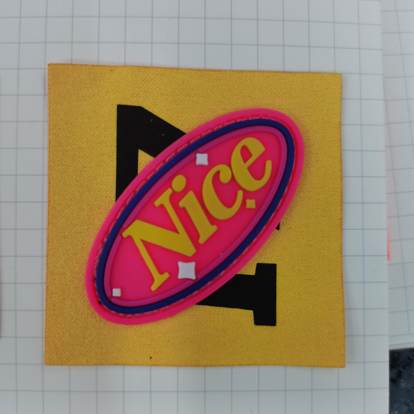 滴塑橡胶皮标PVC logo 软胶