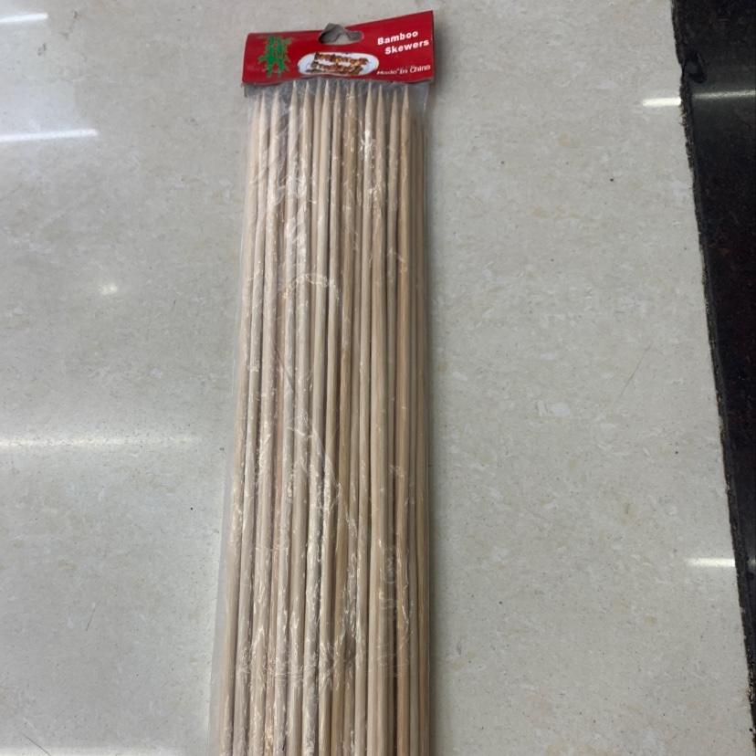 5.0*30CM竹签