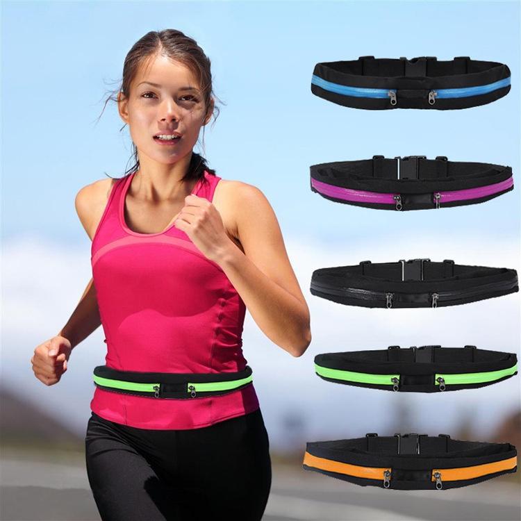户外运动腰包 贴身隐形手机包骑行跑步高弹力腰包 时尚运动腰包