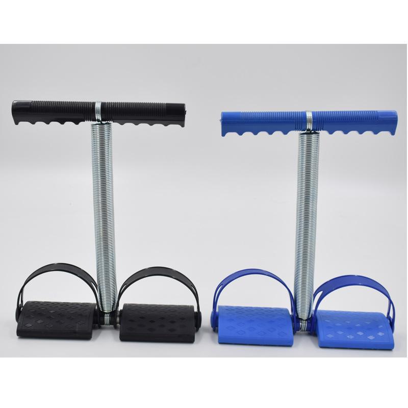 脚踏拉力器  多功能脚蹬拉力器     单根弹簧拉力器