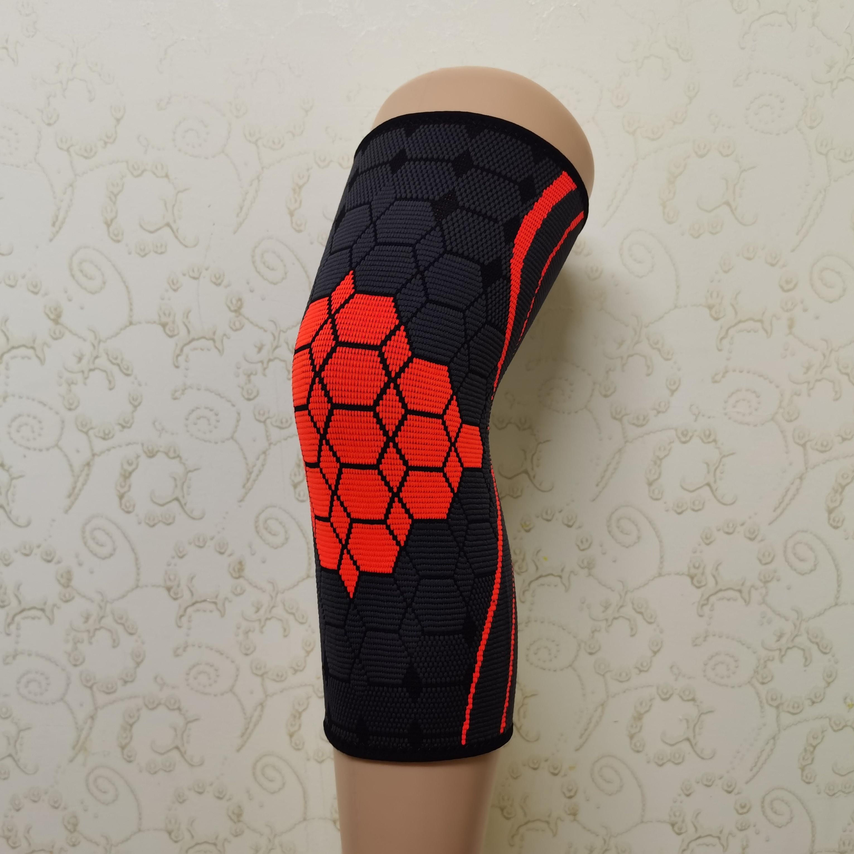 蜂窝型提花透气尼龙护膝
